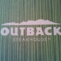 Photo taken at Outback Steakhouse by Garrett T. on 2/17/2013