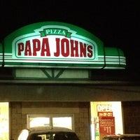 Photo taken at Papa John's Pizza by Ken T. on 11/27/2013