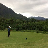 Photo taken at Royal Hawaiian Golf Club by Cassie Y. on 4/12/2014