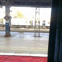Photo taken at Bandra Railway Station by Kartik N. on 2/5/2013
