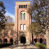 Photo taken at Bovard Administration Building (ADM) by Tamra P. on 1/10/2014