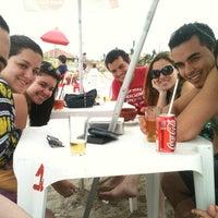 Photo taken at Quiosque dos Manequinhos by Vinicius M. on 10/14/2012