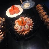 Photo taken at Sushi Naga by Astri M. on 4/19/2015