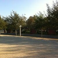 Photo taken at Parque Violeta Parra by seba f. on 9/28/2012