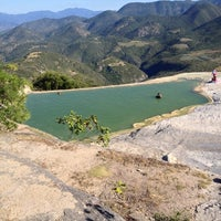 Photo taken at Hierve el Agua by Carlos A. on 10/25/2012
