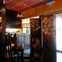 Photo taken at Kuchi Japanese Restaurant by 莲 美. on 2/15/2013