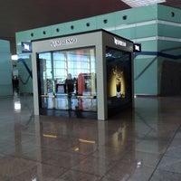 Photo taken at NCube Nespresso Terminal 1 by Meri R. on 12/30/2013