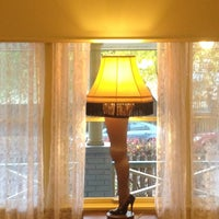 Photo taken at A Christmas Story House & Museum by Paige K. on 10/27/2012