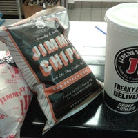 Photo taken at Jimmy John's by LaTasha Tinydangerousone R. on 4/14/2014