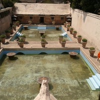 Photo taken at Taman Sari Water Castle by Aria S. on 9/22/2012