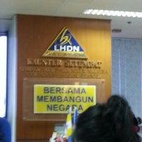 Photo taken at Lembaga Hasil Dalam Negeri by Nastia N. on 1/8/2013