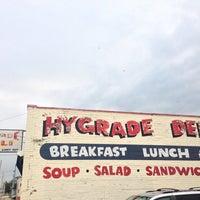 Photo taken at Hygrade Restaurant & Deli by Graham D. on 7/31/2013