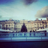 Photo taken at Somerset House by Sai V. on 11/23/2012