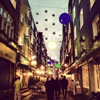 Photo taken at St Christopher's Place by Sai V. on 11/7/2012