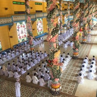 Photo taken at Cao Dai Holy See by Erin L. on 1/14/2016