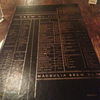 Photo taken at Magnolia Gastropub & Brewery by Erin L. on 1/23/2013