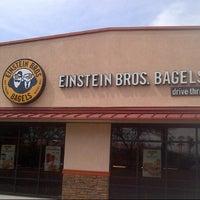 Photo taken at Einstein Bros Bagels by Nuning  on 8/19/2013