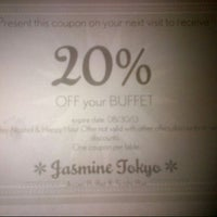 Photo taken at Jasmine Tokyo Asian Buffet by Nuning  on 7/31/2013
