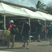 Photo taken at Kahuku Land Farms Fruit Stand by Carl J. on 6/21/2016