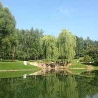 Photo taken at Парк 60-летия Октября by Alyona B. on 7/28/2013