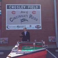 Photo taken at Crosley Field Historic Site by Sherry R. on 6/8/2016