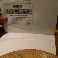 Photo taken at Outback Steakhouse by Taiwan B. on 7/2/2015