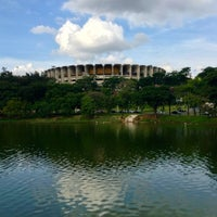 Photo taken at Lagoa da Pampulha by Daniel V. on 6/13/2013