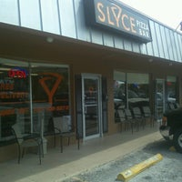 Photo taken at Slyce Pizza Bar by Brent T. on 9/22/2012