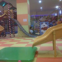 Photo taken at Kiddy Play Land Mall Olympic Garden 3rd Floor by Eka D. on 7/14/2015