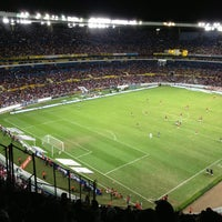 Photo taken at Estadio Jalisco by Ruben I. on 3/3/2013