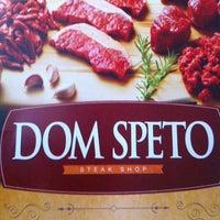 Photo taken at Dom Speto Steak House by Alzilene R. on 9/28/2012