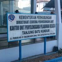 Photo taken at Pelabuhan Tanjung Batu Kundur by Adhi Y. on 4/17/2014