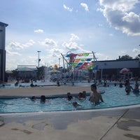 Photo taken at Cumming Aquatic Center by Erin B. on 6/14/2014