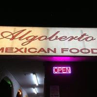 Photo taken at Algoberto's by Jenna on 1/11/2013