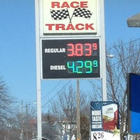 Photo taken at Race Track Gas & Convenience by Beth F. on 3/9/2013