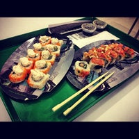 Photo taken at Sushi Roll by Beatriz E. on 10/30/2012