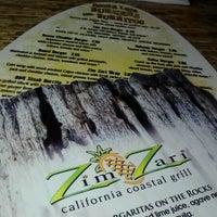 Photo taken at Zim Zari Coastal California Grill by Pat G. on 10/26/2012