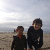 Photo taken at Aliso Beach by Janet M. on 12/1/2012