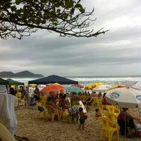 Photo taken at Praia Grande by Ana Lídia C. on 11/15/2012