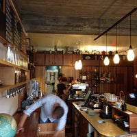 Photo taken at Customs Brew Bar by Nordine I. on 2/22/2015