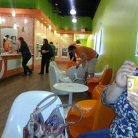 Photo taken at Orange Leaf by Trina W. on 5/25/2013