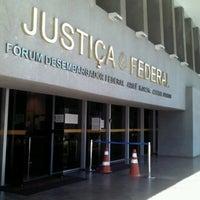 Photo taken at Justiça Federal de SP - Fórum de  Execuções Fiscais Federais by Thaisa P. on 3/6/2013