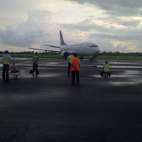 Photo taken at Fatmawati Soekarno Airport (BKS) by Permana M. on 10/19/2013