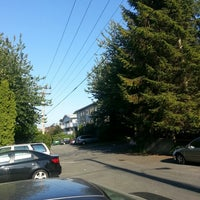 Photo taken at West 4th and Burrard by Nilufa O. on 7/18/2013
