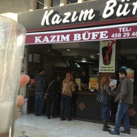 Photo taken at Kazım Büfe by Şerife T. on 2/14/2013