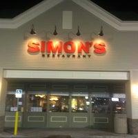 Photo taken at Simon's Restaurant & Delicatessen by Herb L. on 3/23/2013