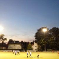 Photo taken at La Gantoise Hockey by Sylvie V. on 9/15/2012