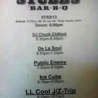 Photo taken at Stubb's Bar-B-Q by DjLORD on 7/2/2013
