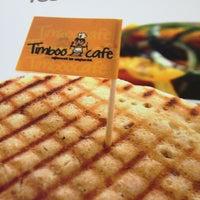 Photo taken at Timboo Cafe by Burcu K. on 2/10/2013