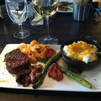 Photo taken at Del Frisco's Grille by Carri on 12/11/2012